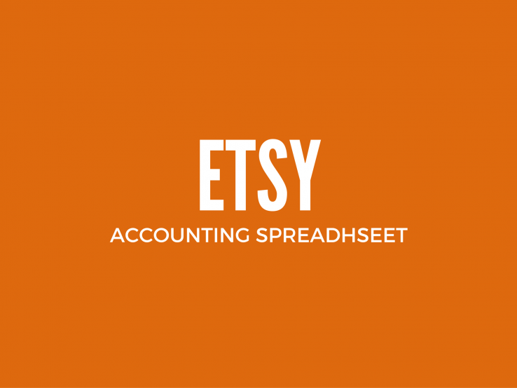 Etsy Accounting Spreadsheet