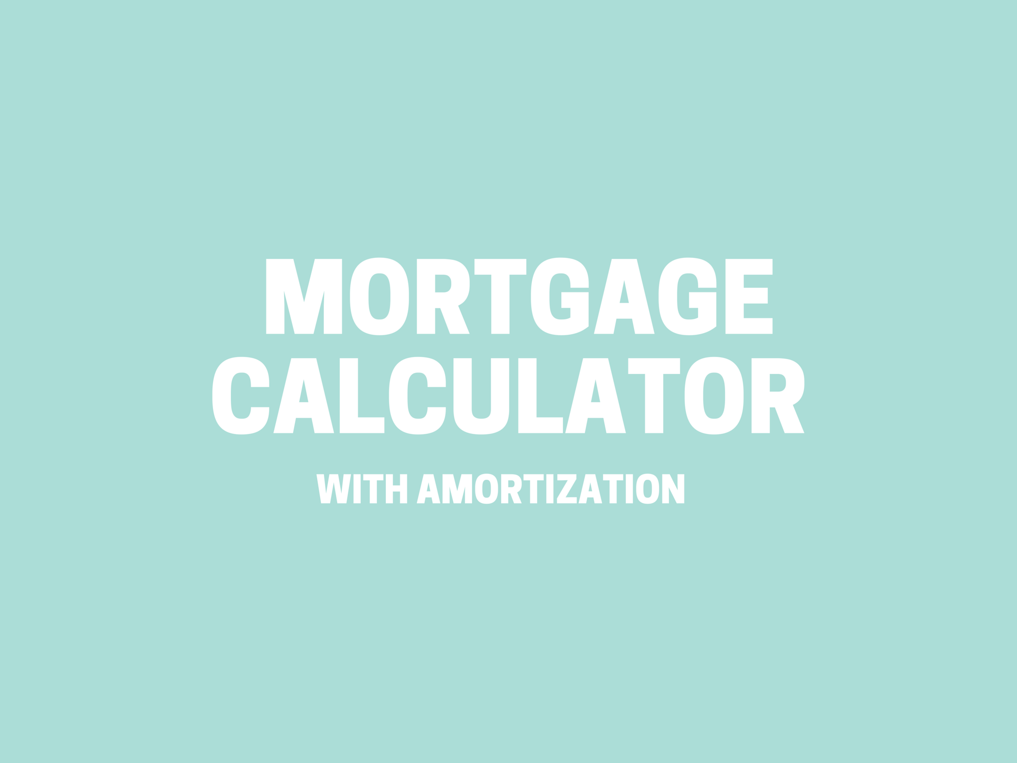 mortgage calculator spreadsheet elegant mortgage amortization