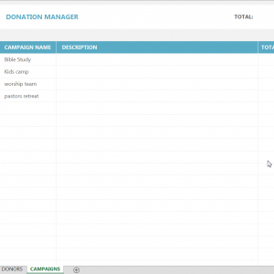 Donor tracking spreadsheet donor management excel shop pronofoot35fo Images
